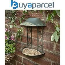 Peckish Secret Garden Wall Hanging Metal Seed Wild Bird Feeder Table 5060235444814 Ebay