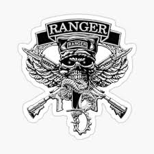 Army Ranger Stickers Redbubble
