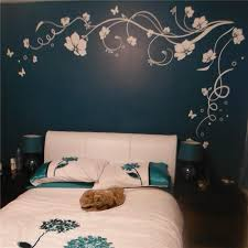 Large Butterfly Vine Flowers Butterflies Wall Decal The Decal House