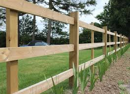 Morticed Post And Rail Fencing Post And Rail Fence Rail Fence Garden Dividers