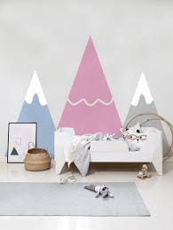 Pastel Mountains Wall Decals Coloraydecor Com