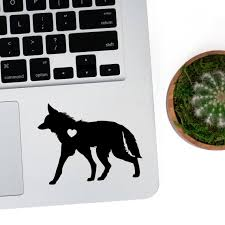 Maned Wolf Sticker Wolf Decal Wolf Car Laptop Vinyl Decal Etsy