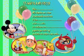 Tarjetas Invitacion Cumpleanos Disney Imagui
