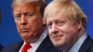 Donald Trump 'apoplectic' in call with Boris Johnson over Huawei | Financial Times