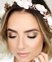 natural yet flawless bridal makeup look