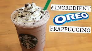 oreo frappuccino starbucks secret