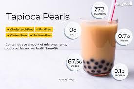 boba nutrition facts calories carbs