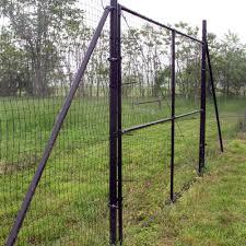 8 H X 12 W Deer Fence Driveway Gate Deerbusters Canada