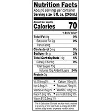 vegetable juice 11 5 oz can 6 count