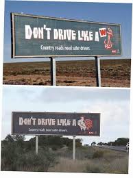 To Carry On From The W Anchor Post We Have These Signs On The Highways In Australia Meme Guy