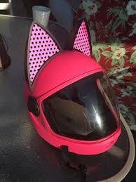 Cat Ear Helmet Upgrade Black Easy Peel And Stick Helmet Accessory W Helmet Upgrades