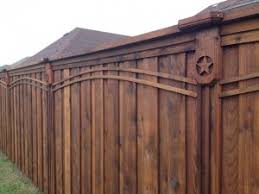 8 Ft Board On Board Cedar Fence Lifetime Fence Wood Privacy Fences