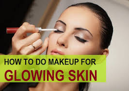 how to do glowing skin makeup easily