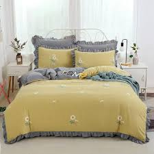 chic home korean ruffled bedding set
