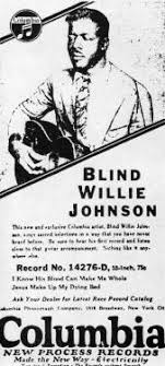 "JOHNSON, ""BLIND WILLIE"" | The Handbook of Texas Online| Texas ..."