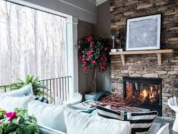 how to clean a stone fireplace diy