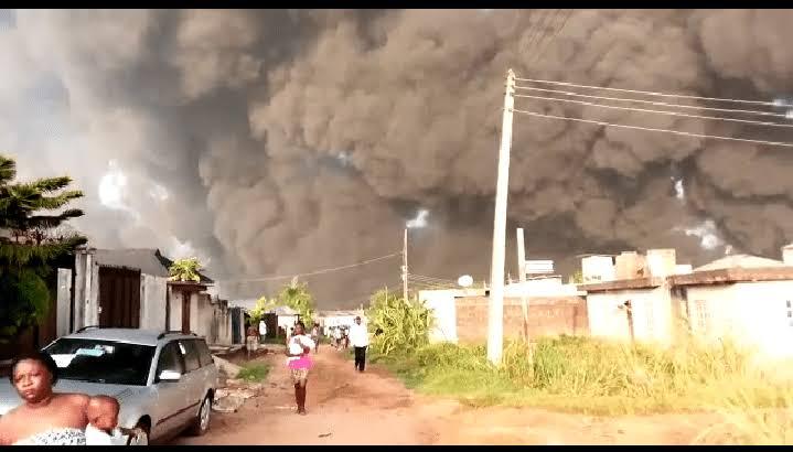 """Lagos pipeline explosion"""""""