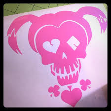Other Harley Quinn Decal Pink Poshmark