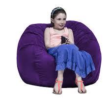Jaxx Kids 3 Round Bean Bag Chair 10836 Reception Waiting Room Worthington Direct