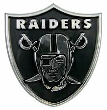 Nfl Oakland Raiders 3 D Chrome Plastic Auto Car Truck Emblem Sticker Decal 689603791289 Ebay