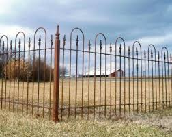 Find Wrought Iron Fencing Gates Custom Iron By Arusticgarden