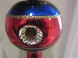 ornament vintage blown glass