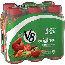 v8 original 100 vegetable juice plant