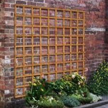 Forest 6 X 6 Heavy Duty Square Garden Trellis Fence Panel 1 83m X 1 83m B M