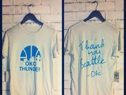 oklahoma city thunder t shirts