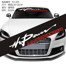 Car Window Sun Shade Sticker Windshield Decal Hks Hi Power Size 130 21cm Wish