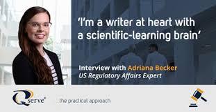 Interview with Adriana Becker, US Regulatory Affairs Expert