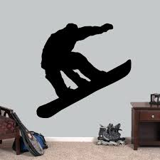 Snowboarder Wall Decals Home Decor Wall Decals