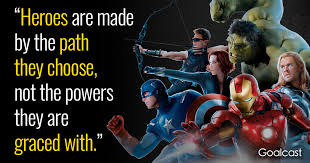 marvel quotes to help you the superhero in