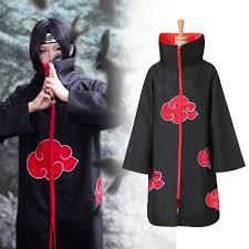 Áo choàng hóa trang Itachi Uchiha nhóm Akatsuki phim Naruto