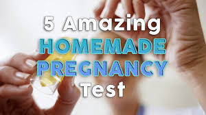 5 amazing homemade pregnancy tests that