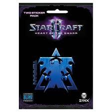 Starcraft Ii Heart Of The Swarm Multi Size Sticker 2 Pack Terran Blue Walmart Canada