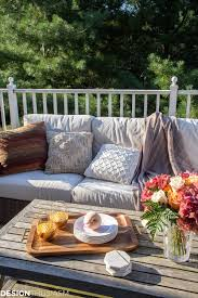 Fall Decorating Ideas For Outside How To Transition Your Patio Into Fall