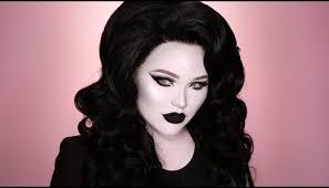 film noir makeup tutorial black