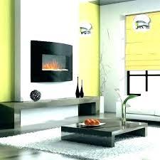 wall mount fireplace under tv wall
