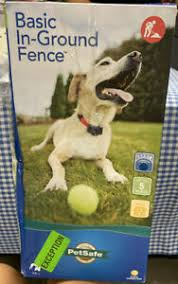 Petsafe Basic In Ground Dog Pet Fence Pig00 14582 New 729849145825 Ebay