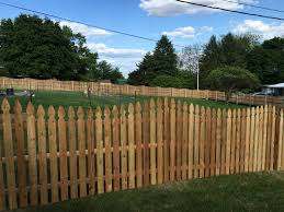 Red Cedar French Gothic Concave Picket Smucker Fencing