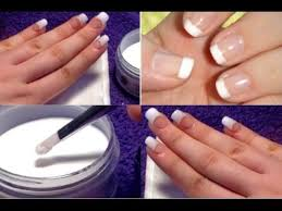 acrylic nails at home in 5 easy steps