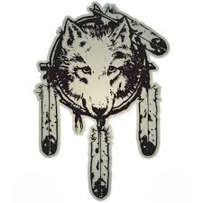 Wolf Native American Dream Catcher Vinyl Sticker Waterproof Decal Sticker 5 Walmart Com Walmart Com