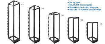 open frame equipment racks