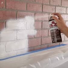 painting a brick fireplace the home