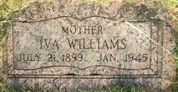 Iva (Franklin) Hartoon Williams (1899-1945) - Find A Grave Memorial