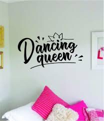 Dancing Queen Quote Wall Decal Sticker Bedroom Room Vinyl Art Home Sti Boop Decals
