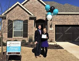 Mustang Lakes First official Residents