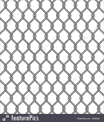Abstract Patterns Chain Link Fence Texture Stock Illustration I2945326 At Featurepics