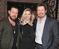 Actor AJ Buckley and his wife Abigail Ochse with Richard Wilk at Andiamo  Las Vegas | VegasNews.com - Las Vegas News